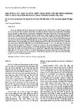 """Báo cáo """"ảnh hưởng của một số dịch chiết thảo dược lên hệ thống enzyme P450 và phát hiện đột biến gen Cyp1b1 ở dòng tế bào ung thư """""""