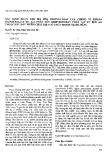 """Báo cáo """" Xác định đoạn gen mã hoá dioxygenase của chủng vi khuẩn Paenibacillus sp. Ao3 phân huỷ dibenzofuran phân lập từ bùn ao thuộc khu đất nhiễm chất diệt cỏ chứa dioxin tại Đà Nẵng """""""