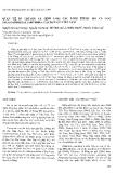 """Báo cáo """"Quan hệ di truyên và định loại các loài thuộc họ cá Cóc salamandridae (Amphibia: Caudata) ở Việt Nam """""""