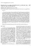 """Báo cáo """"Sự phân bố các đa hình Nucleotide đơn của nhóm đớn bội C trên nhiễm sắc thể Y ở người Việt Nam """""""