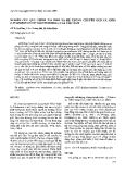 """Báo cáo """"Nghiên cứu quy trình tái sinh và hệ thống chuyển gen cà chua (Lycopersicon esculentum Mill.) của Việt Nam """""""