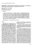 """Báo cáo """" ảnh hưởng của kích thước quần thể đến sự sinh sản cận noãn của một số loài thiên tuế (Cycas, Cycadaceae) ở Việt Nam"""""""