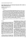 """Báo cáo """"Một số tính chất hoá lý của protease ngoại bào chủng vi sinh vật biển Acinetobacter sp. QN6 """""""