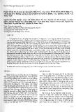 """Báo cáo """"Phân tích đa dạng di truyền phân tử, các đặc tính nông sinh học và tính kháng bệnh xanh lùn ở một số giống bông vải trong nước và nhập nội """""""