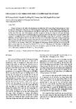 """Báo cáo """"Tinh sạch và xác định tính chất của phytase tái tổ hợp """""""