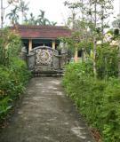 Kiến trúc nhà vườn - nét đặc trưng văn hóa của Huế