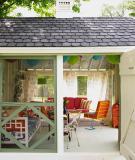 Tạo không gian thư giãn hoàn hảo dưới những mái hiên nhà