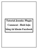 Tutorial Joomla: Plugin Comment - Bình luận bằng tài khoản Facebook
