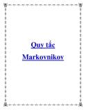 Quy tắc Markovnikov