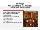 Bài giảng Điều hành hoạt động nhà hàng-Bar - Chương 5:  Tầm quan trọng của thực đơn- xây dựng thực đơn (ThS. Nguyễn Sơn Tùng)