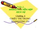 Chiêu thị trong marketing dịch vụ