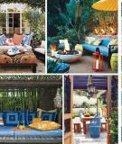 Bảng màu tạo phong cách cho khu vườn nhà bạn