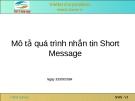 Mô tả quá trình nhắn tin Short Message