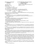 Đề thi học sinh giỏi lớp 11 môn Hóa - Sở GD&ĐT Lâm Đồng - Kèm đáp án