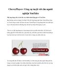 CherryPlayer: Công cụ tuyệt vời cho người nghiện YouTube