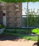 Tường rào khiến ngôi nhà đẹp hơn