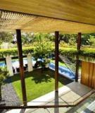 Tre nứa trong thiết kế nhà vườn