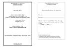 Luận văn: Định giá doanh nghiệp nhằm phục vụ cổ phần hóa tại công ty thương mại Quảng Nam Đà Nẵng