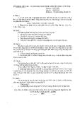 Đề thi học sinh giỏi môn Hóa lớp 9 - Kèm đáp án