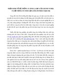 NHẬN ĐINH VỀ HỆ THỐNG SX HÀNG LOẠT (CỦA HENRY FORD)  VÀ HỆ THÔNG SX TINH GỌN (CỦA TOYODASAKICHI)