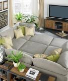 Thư giãn trên những chiếc sofa khổng lồ