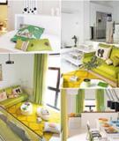 Chọn màu sắc và đồ nội thất xinh cho nhà trắng