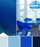 Sắc xanh Navy cho không gian quyến rũ