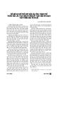 """Báo cáo """" Đổi mới cơ chế phối hợp giữa các tỉnh, thành phố trong việc lập thực hiện và giám sát thực hiện kế hoạch phát triển kinh tế xã hội """""""