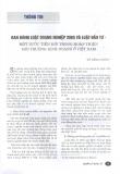 """Báo cáo """"Ban hành Luật Doanh nghiệp 2005 và Luật Đầu tư - một bước tiến mới trong hoàn thiện môi trường kinh doanh ở Việt Nam """""""
