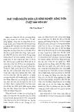 """Báo cáo """" Phát triển nguồn nhân lực nông nghiệp, nông thôn ở Việt Nam hiện nay """""""