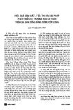 """Báo cáo """" Hiệu quả sản xuất - tiêu thụ và giải pháp phát triển thị trường rau an toàn trên địa bàn Đồng bằng sông Cửu Long"""""""
