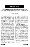 """Báo cáo """" Trách nhiệm xã hội của doanh nghiệp: một số vấn đề lý luận và yêu cầu đổi mới trong quản lý nhà nước ở Việt Nam """""""