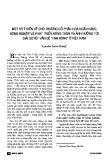 """Báo cáo """"Một số ý kiến về chủ chương cổ phần hoá ngân hàng nông nghiệp và phát triển nông thôn và ảnh hưởng đến giải quyết vấn đề """"Tam nông"""" ở Việt Nam """""""