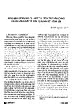 """Báo cáo """" Nghị định 43/2006/NĐ-CP - Một cải cách tài chính công đúng hướng đối với đơn vị sự nghiệp công lập """""""