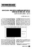 """Báo cáo """" Quan hệ ASEAN - Trung Quốc và xu hướng chuyển dịch đầu tư thương mại của Trung Quốc - Việt Nam giai đoạn 2006 - 2010 """""""