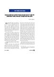 """Báo cáo """" Doanh ngiệp địa phương trong hội nhập kinh tế quốc tế: Những mâu thuẫn, xung đột và biện pháp giải quyết """""""