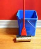 Bí quyết giữ sàn gỗ luôn sạch bóng