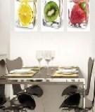 Làm đẹp nhà với cảm hứng dễ thương từ thực phẩm