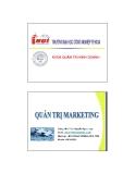 Quản trị marketing - Chương 8 Các quyết định về chiêu thị (TS Nguyễn Ngọc Long)