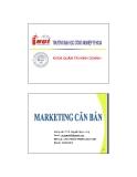 Marketing căn bản - Chương 1 Nhập môn marketing (TS Nguyễn Ngọc Long)