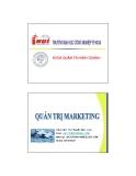 Quản trị marketing - Chương 2 Hệ thống thông tin marketing (TS Nguyễn Ngọc Long)
