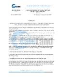 Thông tư   13/2009/TT-BTC do Bộ Tài chính ban hành