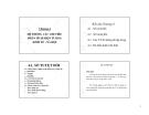HỆ THỐNG CÁC CHỈ TIÊU PHÂN TÍCH HIỆN TƯỢNG KINH TẾ - XÃ HỘI