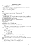 Một số bài tập toán tiểu học