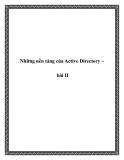 Những nền tảng của Active Directory – bài II