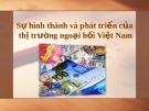 Sự hình thành và phát triển của thị trường ngoại hối Việt Nam