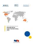 Khuyến nghị phương án đàm phán  Hiệp định Đối tác Xuyên Thái Bình Dương (TPP)