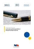 Khuyến nghị chính sách Các đề xuất sửa đổi thông lệ điều tra Chống bán phá giá của Hoa Kỳ