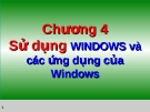Sử dụng WINDOWS