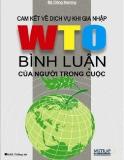 Cam kết thương mại dịch vụ khi gia nhập WTO Bình luận của người trong cuộc